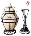 Amphora / Amfora Tandoor Aladdin mit Klappdeckel