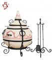 Amphora / Amfora Tandoor Orient mit Klappdeckel